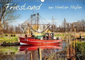 Friesland – am Vareler Hafen (Wandkalender 2018 DIN A3 quer) von Roder,  Peter