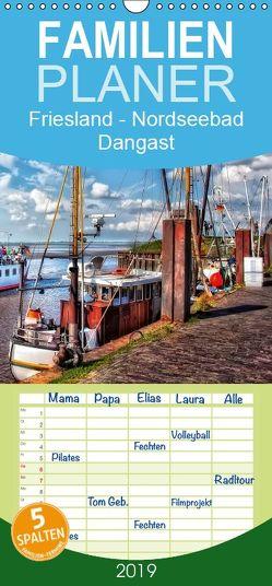 Friesland – Nordseebad Dangast – Familienplaner hoch (Wandkalender 2019 , 21 cm x 45 cm, hoch) von Roder,  Peter