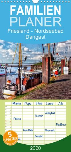 Friesland – Nordseebad Dangast – Familienplaner hoch (Wandkalender 2020 , 21 cm x 45 cm, hoch) von Roder,  Peter