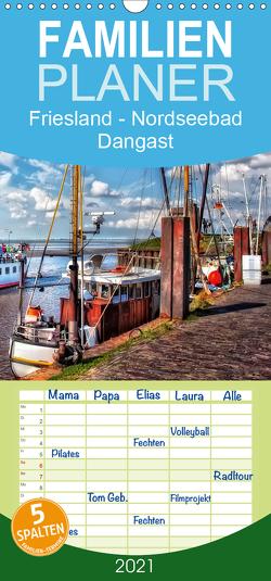 Friesland – Nordseebad Dangast – Familienplaner hoch (Wandkalender 2021 , 21 cm x 45 cm, hoch) von Roder,  Peter