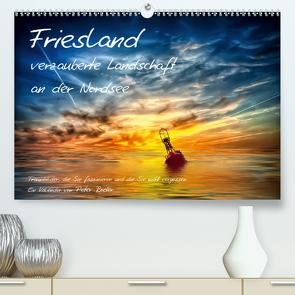Friesland – verzauberte Landschaft an der Nordsee / CH-Version (Premium, hochwertiger DIN A2 Wandkalender 2021, Kunstdruck in Hochglanz) von Roder,  Peter