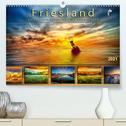 Friesland, verzauberte Landschaft an der Nordsee (Premium, hochwertiger DIN A2 Wandkalender 2021, Kunstdruck in Hochglanz) von Roder,  Peter