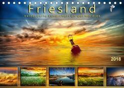 Friesland, verzauberte Landschaft an der Nordsee (Tischkalender 2018 DIN A5 quer) von Roder,  Peter