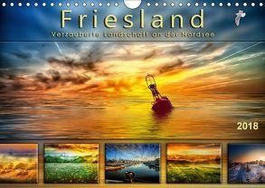 Friesland, verzauberte Landschaft an der Nordsee (Wandkalender 2018 DIN A4 quer) von Roder,  Peter