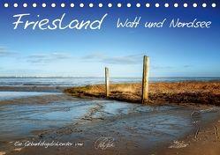 Friesland – Watt und Nordsee / CH-Version / Geburtstagskalender (Tischkalender 2018 DIN A5 quer) von Roder,  Peter