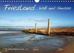 Friesland – Watt und Nordsee / CH-Version / Geburtstagskalender (Wandkalender 2018 DIN A4 quer) von Roder,  Peter