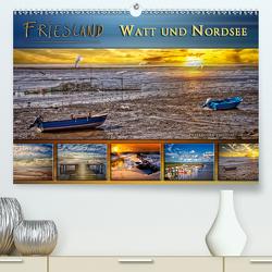 Friesland – Watt und Nordsee (Premium, hochwertiger DIN A2 Wandkalender 2021, Kunstdruck in Hochglanz) von Roder,  Peter