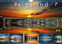 Friesland, wo die Natur sich spiegelt (Wandkalender 2018 DIN A4 quer) von Roder,  Peter