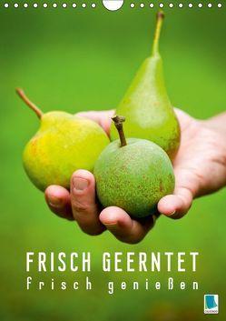 Frisch geerntet – frisch genießen (Wandkalender 2019 DIN A4 hoch)
