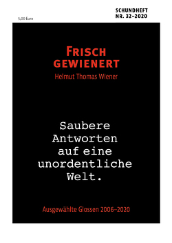 FRISCH GEWIENERT von Wiener,  Helmut Thomas