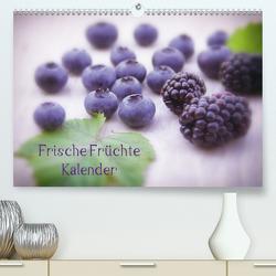 Frische Früchte Kalender Schweizer EditionCH-Version (Premium, hochwertiger DIN A2 Wandkalender 2021, Kunstdruck in Hochglanz) von Riedel,  Tanja