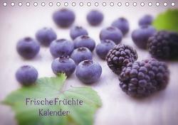 Frische Früchte Kalender (Tischkalender 2021 DIN A5 quer) von Riedel,  Tanja