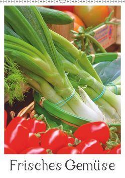 Frisches Gemüse (Wandkalender 2019 DIN A2 hoch) von LianeM