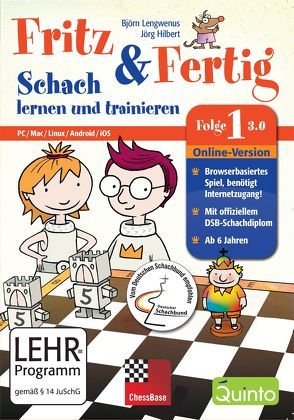Fritz & Fertig Folge 1 – (Version 3.0) Online-Version von Hilbert,  Jörg, Lengwenus,  Björn