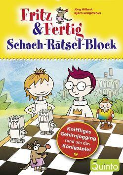 Fritz & Fertig – Schach-Rätsel-Block von Hilbert,  Jörg, Lengwenus,  Björn