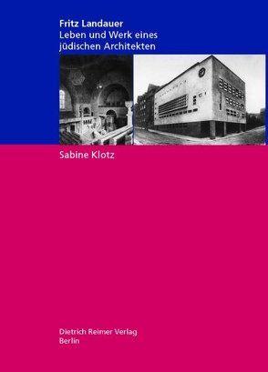 Fritz Landauer (1883-1968) von Klotz,  Sabine