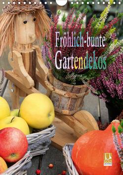 Fröhlich-bunte Gartendekos (Wandkalender 2020 DIN A4 hoch) von Schmidbauer,  Heinz