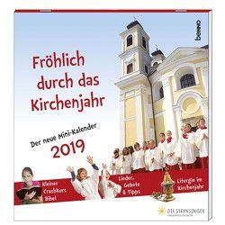 Fröhlich durch das Kirchenjahr 2019 von Kreichgauer,  Dominique