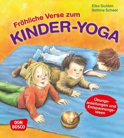Fröhliche Verse zum Kinder-Yoga von Gulden,  Elke, Scheer,  Bettina