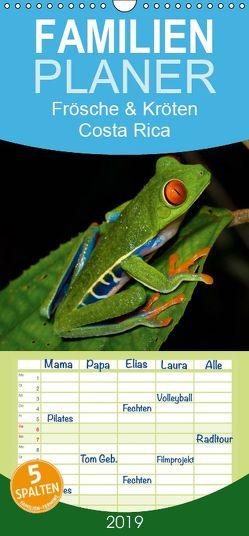 Frösche & Kröten Costa Rica – Familienplaner hoch (Wandkalender 2019 , 21 cm x 45 cm, hoch) von Dummermuth,  Stefan