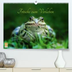 Frösche zum Verlieben (Premium, hochwertiger DIN A2 Wandkalender 2020, Kunstdruck in Hochglanz) von Gawlik,  Kathrin