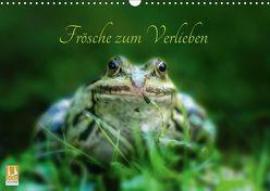 Frösche zum Verlieben (Wandkalender 2019 DIN A3 quer) von Gawlik,  Kathrin