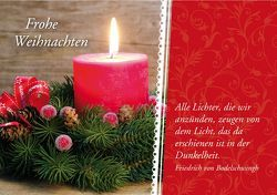 Frohe Weihnachten – Alle Lichter, die wir anzünden, zeugen von dem Licht, das da erschienen ist in der Dunkelheit. Friedrich von Bodelschwingh von Engeln,  Reinhard