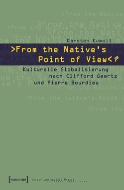 »From the Native's Point of View«? von Kumoll,  Karsten