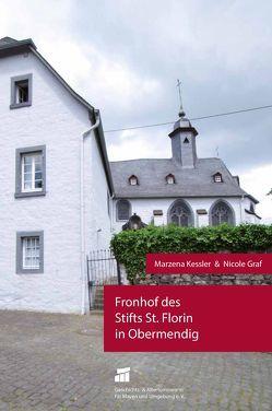 Fronhof des Stifts St. Florin in Obermendig von Graf,  Nicole, Kessler,  Marzena