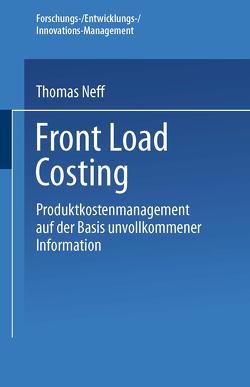 Front Load Costing von Neff,  Thomas