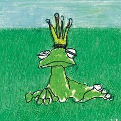 Froschkönig und Prinzessin von Drontmann,  Lydia, Grimm,  Jacob, Grimm,  Wilhelm