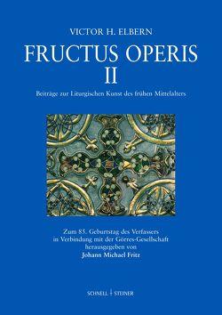 Fructus Operis II von Elbern,  Victor H., Fritz,  Johann Michael, Görres-Gesellschaft,  Görres-Gesellschaft