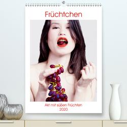 Früchtchen – Akt mit süßen Früchtchen (Premium, hochwertiger DIN A2 Wandkalender 2020, Kunstdruck in Hochglanz) von Bedaam,  Jürgen