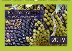 Früchte-Allerlei an Baum, Strauch und Co. (Wandkalender 2019 DIN A2 quer) von Keller,  Angelika