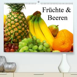Früchte & Beeren (Premium, hochwertiger DIN A2 Wandkalender 2021, Kunstdruck in Hochglanz) von Stanzer,  Elisabeth