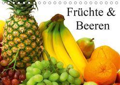 Früchte & Beeren (Tischkalender 2019 DIN A5 quer) von Stanzer,  Elisabeth