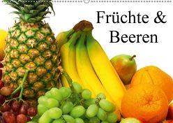 Früchte & Beeren (Wandkalender 2018 DIN A2 quer) von Stanzer,  Elisabeth