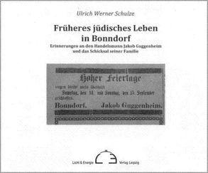 Früheres jüdisches Leben in Bonndorf von Schulze,  Ulrich Werner
