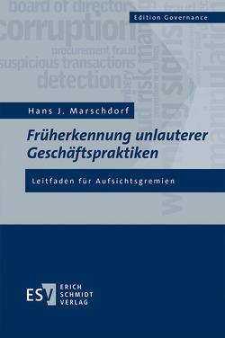 Früherkennung unlauterer Geschäftspraktiken von Marschdorf,  Hans-Joachim