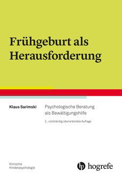 Frühgeburt als Herausforderung von Sarimski,  Klaus