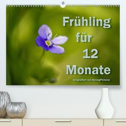 Frühling für 12 Monate (Premium, hochwertiger DIN A2 Wandkalender 2020, Kunstdruck in Hochglanz) von HerzogPictures