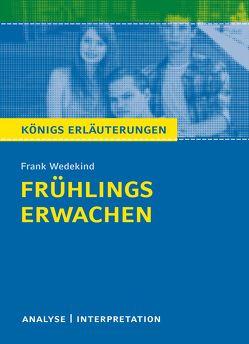Frühlings Erwachen von Frank Wedekind. von Möbius,  Thomas, Wedekind,  Frank