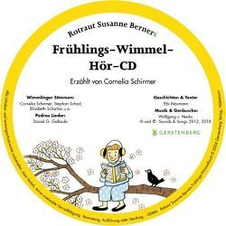Frühlings-Wimmel-Hör-CD von Berner,  Rotraut Susanne, Naumann,  Ebi, von Henko,  Wolfgang