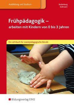 Frühpädagogik – arbeiten mit Kindern von 0 bis 3 Jahren von Bodenburg,  Inga, Kollmann,  Irmgard