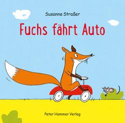 Fuchs fährt Auto von Straßer,  Susanne