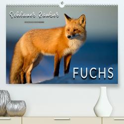 Fuchs – schlauer Räuber (Premium, hochwertiger DIN A2 Wandkalender 2020, Kunstdruck in Hochglanz) von Roder,  Peter