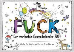 FUCK – Der verfluchte Ausmalkalender 2019