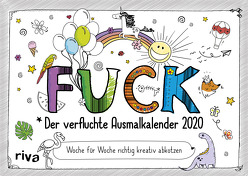 FUCK – Der verfluchte Ausmalkalender 2020