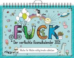 FUCK – Der verfluchte Ausmalkalender 2021