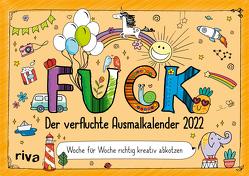 FUCK – Der verfluchte Ausmalkalender 2022 von Riva Verlag